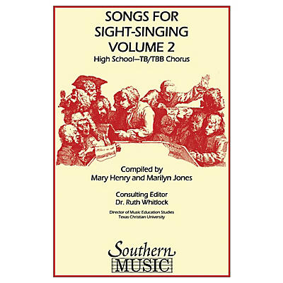 Southern Songs for Sight Singing - Volume 2 (High School Edition TB Book) TB Arranged by Mary Henry