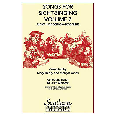 Southern Songs for Sight Singing - Volume 2 (Junior High School Edition TB Book) TB Arranged by Mary Henry