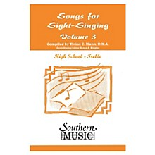 Southern Songs for Sight Singing- Volume 3 (High School Edition SSA Book) SSA Arranged by Mary Henry