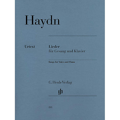 G. Henle Verlag Songs for Voice and Piano Henle Music Folios Softcover Composed by Joseph Haydn Edited by Paul Mies