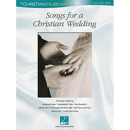 Hal Leonard Songs for a Christian Wedding Piano, Vocal, Guitar Songbook