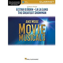 Hal Leonard Songs from A Star Is Born, La La Land and The Greatest Showman Instrumental Play-Along for Clarinet Book/Audio Online