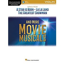 Hal Leonard Songs from A Star Is Born, La La Land and The Greatest Showman Instrumental Play-Along for Violin Book/Audio Online