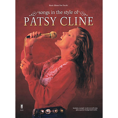 Music Minus One Songs in the Style of Patsy Cline Music Minus One Series Softcover with CD