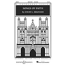 Boosey and Hawkes Songs of Faith (Cathedral Series) SATB composed by David Brunner