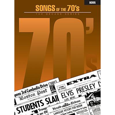 Hal Leonard Songs of the '70s (Horn) Instrumental Folio Series