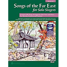 Alfred Songs of the Far East for Solo Singers Book & Acc. CD Medium Low