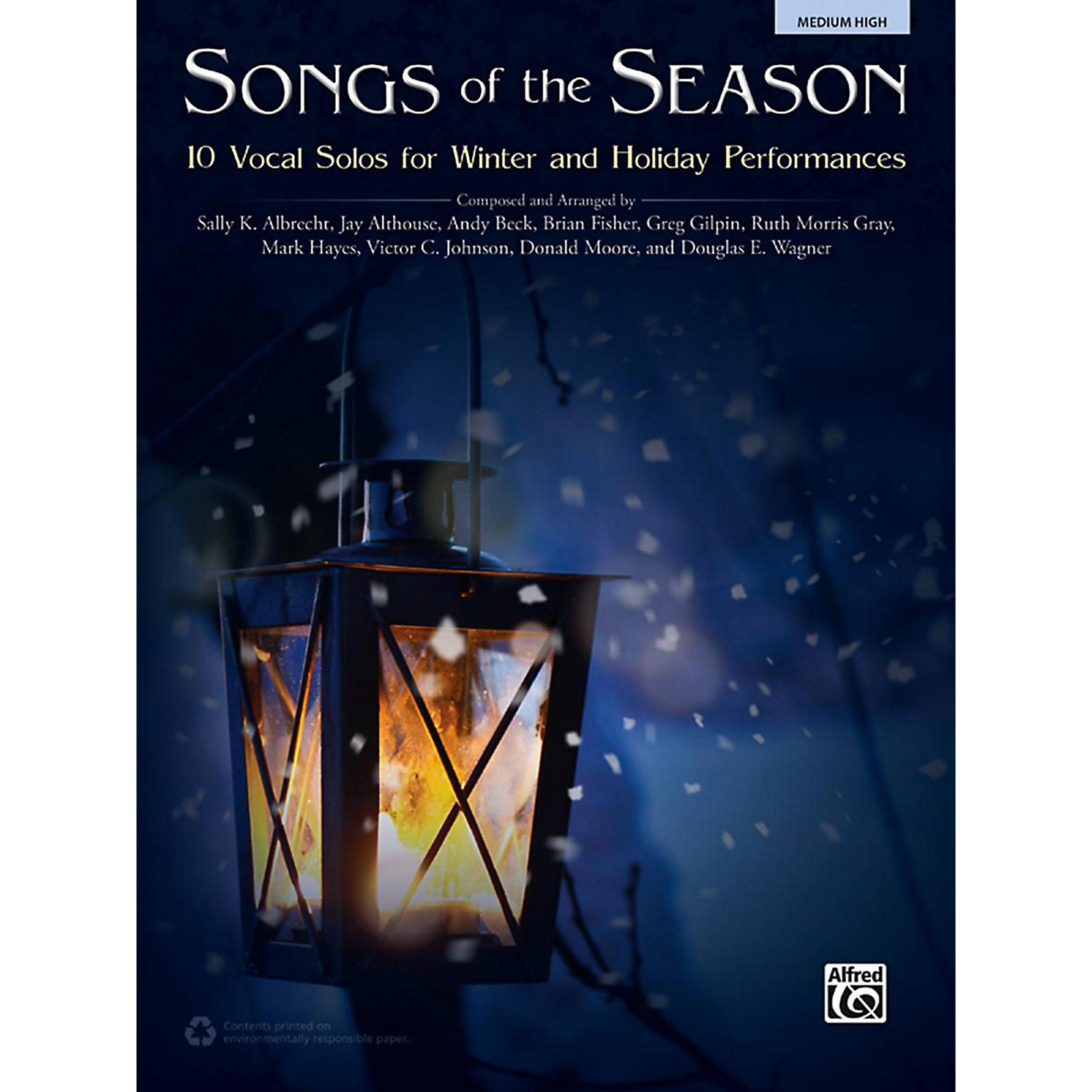 Alfred Songs of the Season Medium High Acc. CD