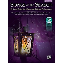 Alfred Songs of the Season Medium Low Book & Acc. CD
