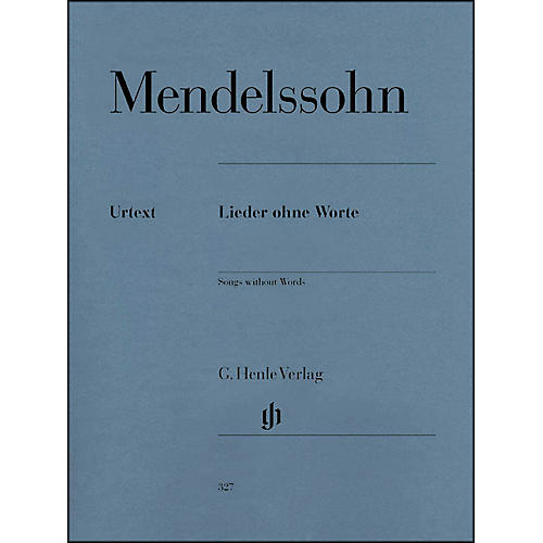 G. Henle Verlag Songs without Words By Mendelssohn