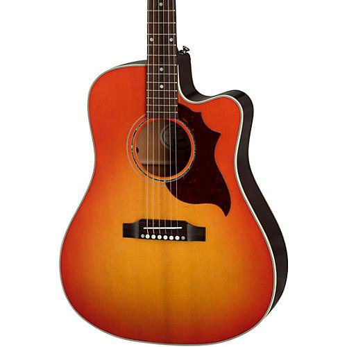 Gibson Songwriter Modern EC Mahogany Acoustic-Electric Guitar Cherry Burst