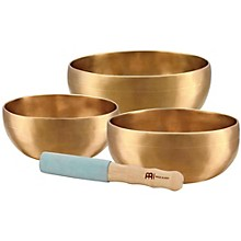Meinl Sonic Energy 3-piece Universal Singing Bowl Set with Resonant Mallet