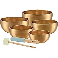 Open Box Meinl Sonic Energy 5-piece Universal Singing Bowl Set with Resonant Mallet
