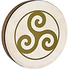 Meinl Sonic Energy HD16WB-TR 16-Inch Hand Drum, Walnut Brown with Triskele Symbol