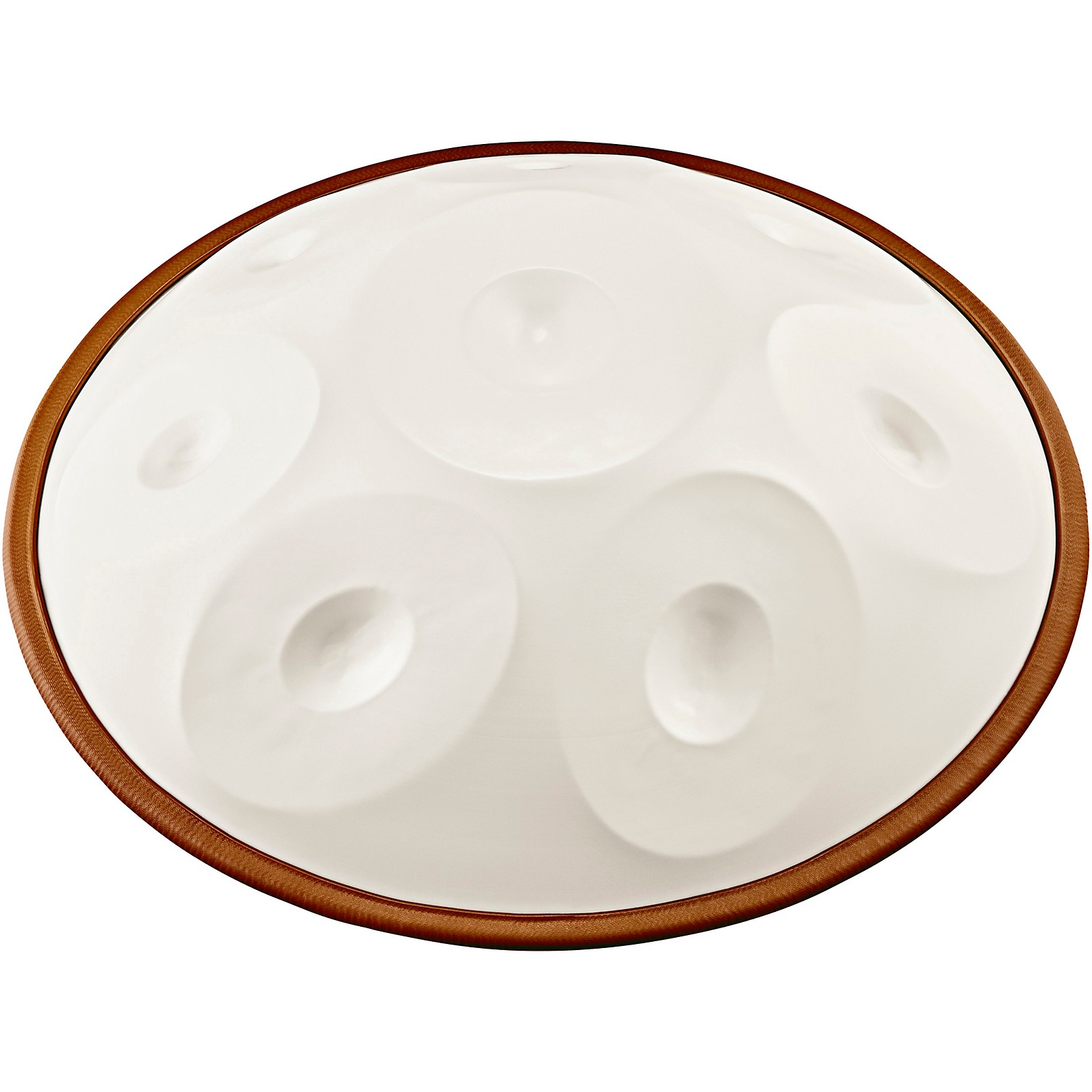 Meinl Sonic Energy Harmonic Art Handpan in White Jade, Akebono F
