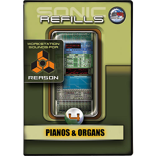 Sonic Reality Sonic Refill for Reason Volume 4 - Pianos and Organs