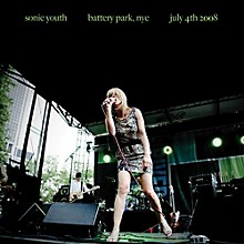Sonic Youth - Battery Park Nyc: July 4th 2008