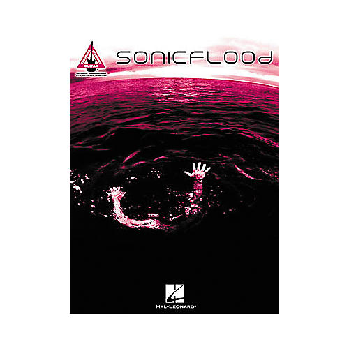 Hal Leonard Sonicflood Guitar Tab Book
