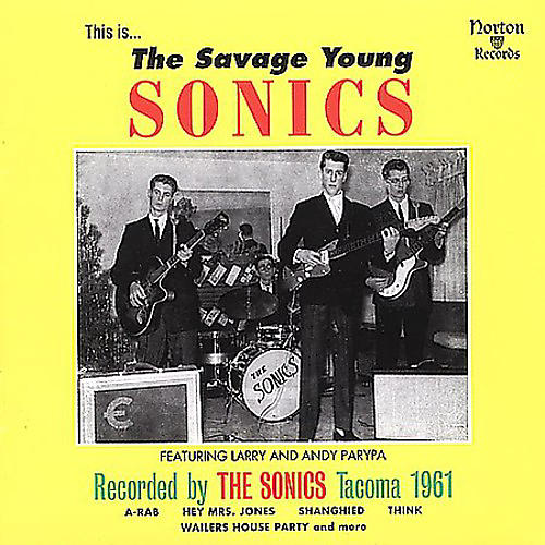 Alliance Sonics - Savage Young Sonics
