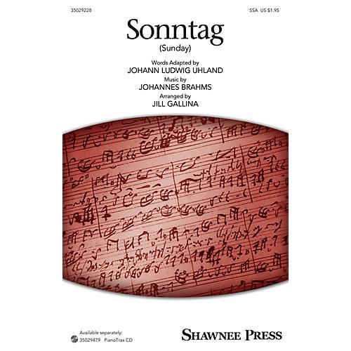 Shawnee Press Sonntag (Sunday) SSA arranged by Jill Gallina