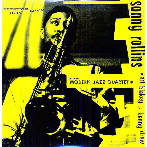 Alliance Sonny Rollins - Sonny Rollins with the Modern Jazz Quartet