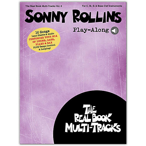 Hal Leonard Sonny Rollins Play-Along Real Book Multi-Tracks Volume 6 Book/Media Online
