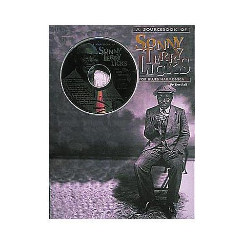 Centerstream Publishing Sonny Terry Licks For Blues Harmonica (Book/CD)