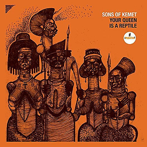Alliance Sons of Kemet - Your Queen Is A Reptile