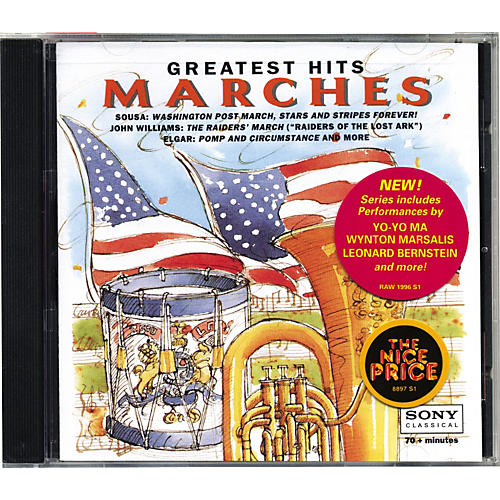 Sony Sony Music MLK66710 CDs Tap Marches Boston Pops CD