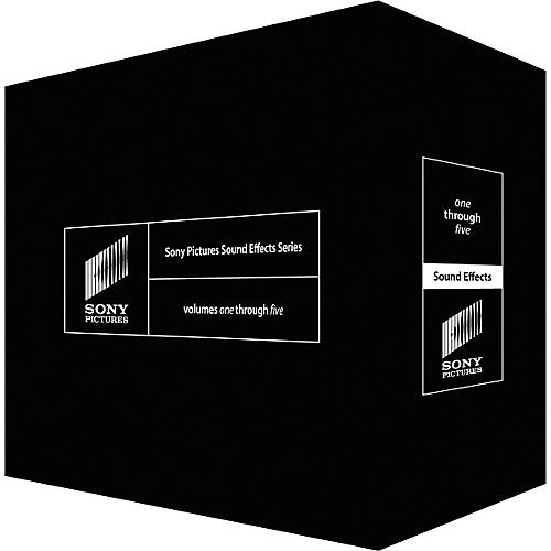 Sony Sony Pictures Sound Effects Series: Volume 1-5