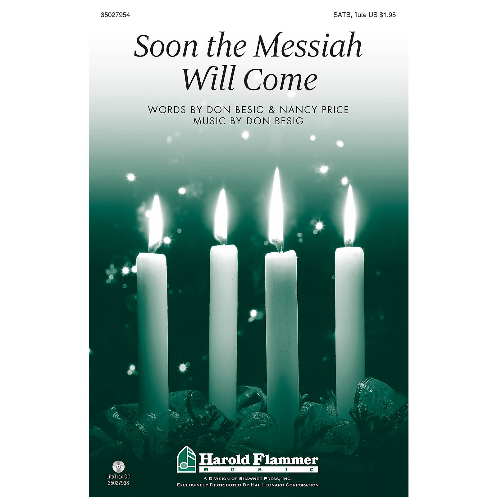 Shawnee Press Soon the Messiah Will Come SATB WITH FLUTE (OR C-INST) composed by Don Besig