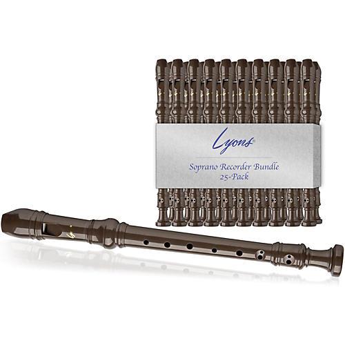 Lyons Soprano Recorder Value Bundle 25-Pack