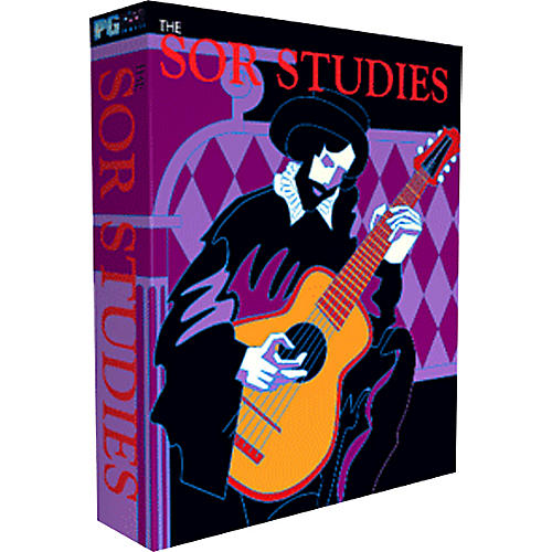 PG Music Sor Studies for Classical Guitar Multimedia Music Program