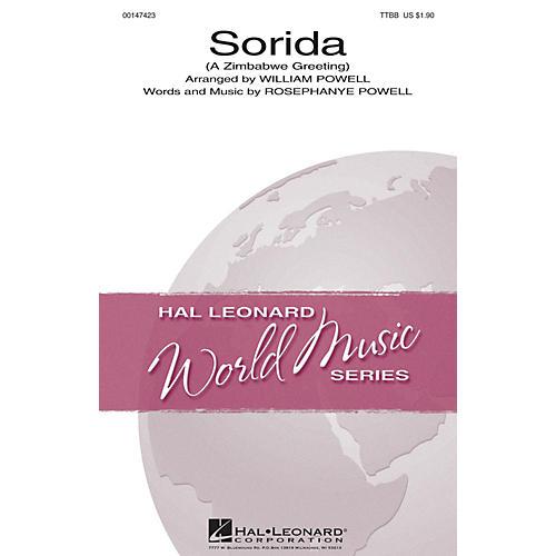 Hal Leonard Sorida (A Zimbabwe Greeting) TTBB arranged by William C. Powell