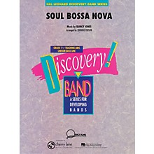 Cherry Lane Soul Bossa Nova Concert Band Level 1.5 Arranged by Johnnie Vinson