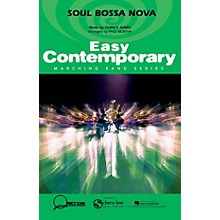 Cherry Lane Soul Bossa Nova Marching Band Level 2-3 Arranged by Paul Murtha