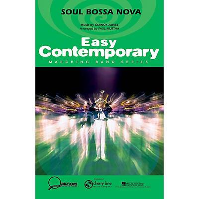 Cherry Lane Soul Bossa Nova Marching Band Level 2-3 Arranged by Paul Murtha