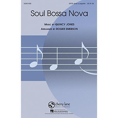 Cherry Lane Soul Bossa Nova SATB DV A Cappella arranged by Roger Emerson