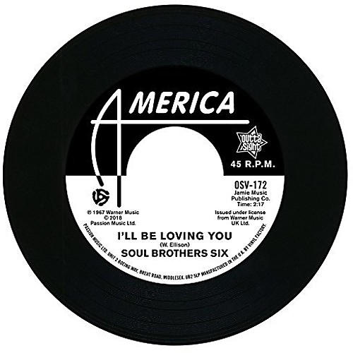 Alliance Soul Bros. Six - I'll Be Loving You / Walkin Up A One Way Street