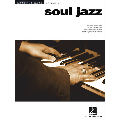 Hal Leonard Soul Jazz - Jazz Piano Solos Series Volume 11
