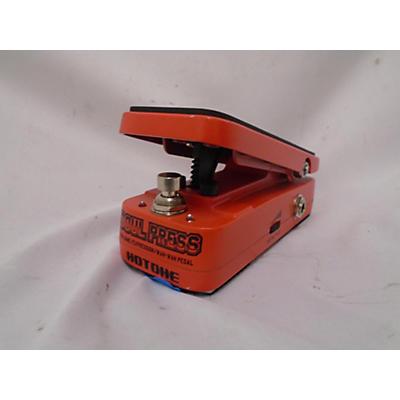 Hotone Effects Soul Press Pedal