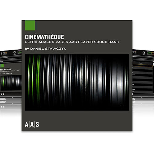 Applied Acoustics Systems Sound Bank Series Ultra Analog VA-2 - Cinematheque