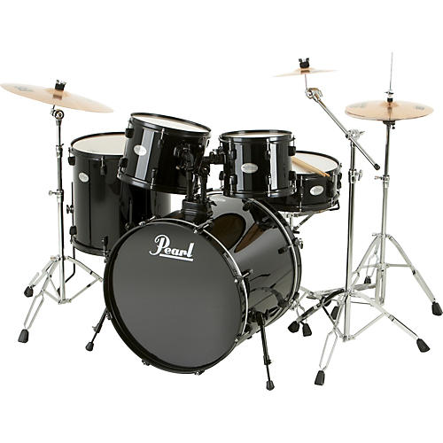 pearl sound check 5 piece drum set with sabian cymbals musician 39 s friend. Black Bedroom Furniture Sets. Home Design Ideas