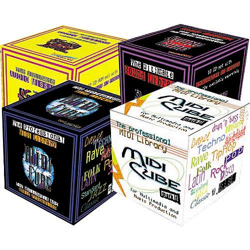 EastWest Sound Cube 10 CD-ROM Set AIFF/WAV