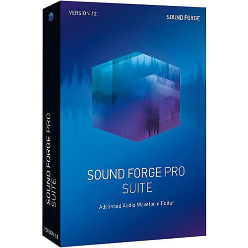 Magix Sound Forge Pro 12 Suite Upgrade