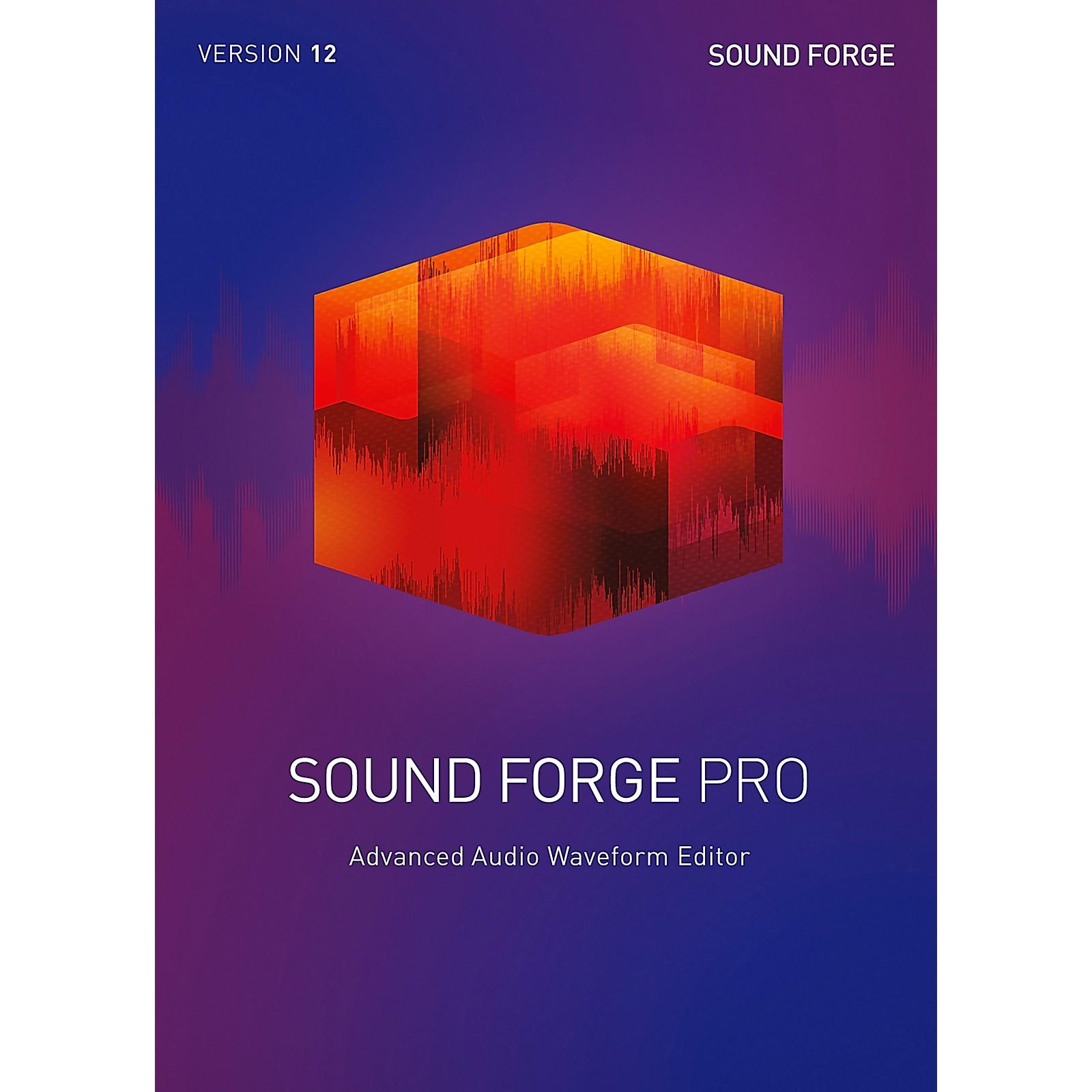 Magix Sound Forge Pro 12 Upgrade
