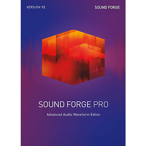 Magix Sound Forge Pro 12