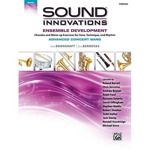 Alfred Sound Innovations Concert Band Ensemble Development Advanced Timpani