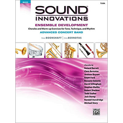 Alfred Sound Innovations Concert Band Ensemble Development Advanced Tuba