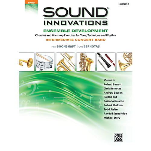 Alfred Sound Innovations Concert Band Ensemble Development Horn in F Book